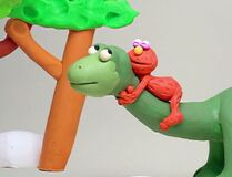 If Elmo Had a Dinosaur