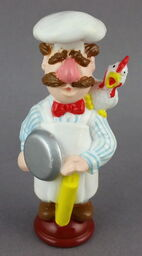 Chess set chef