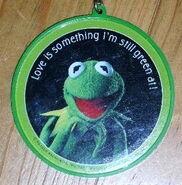 Kermit keychain round