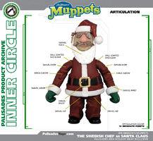 Santa Chef articulation