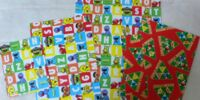 Sesame Street wrapping paper (Japan)