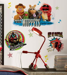 Roommates 2012 muppet decals