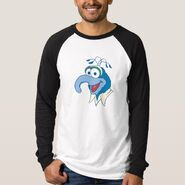 Zazzle gonzo cartoon head shirt