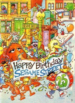 Sesame25birthday
