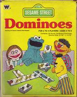Sesame Street Dominoes (Whitman)
