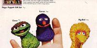Sesame Street finger puppets (Topper)
