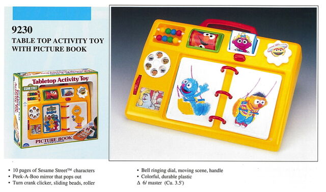 File:Illco 1992 baby toys tabletop activity toy picture book.jpg