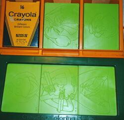 Crayola 1982 coloring plates 3