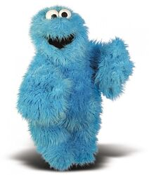 Living puppets cookie monster 45cm