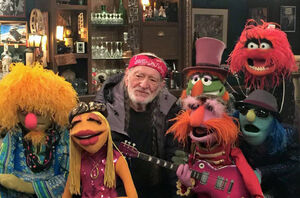 Willie Nelson and the Muppets