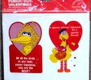 Sesame Street valentines (Drawing Board)