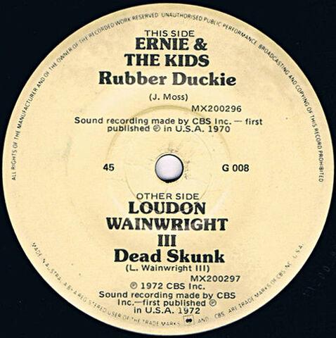 File:CBS1972RubberDuckieDeadSkunkSingle.jpg
