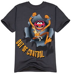 Junk food disney store 2011 shirt out of control