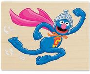 Stampabilities super grover saves the day