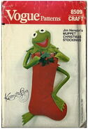 Vogue kermit stocking 1982