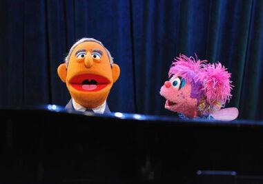 2009gala-Bloomberg Muppet