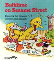 Bathtime on Sesame Street