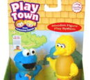 Play Town Sesame Street figures