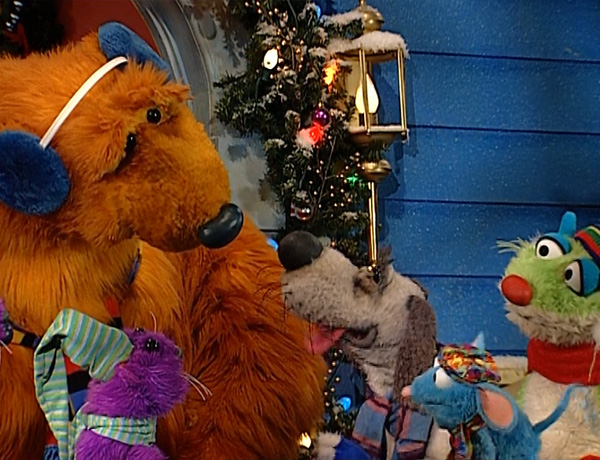 janet to big blue house christmas - Bear Inthe Big Blue House Christmas