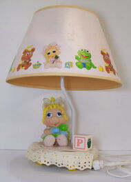 Nursery originals 1986 muppet babies piggy lamp 1