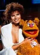 Raquel and fozzie