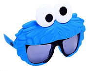 Sun-staches cookie monster sunglasses