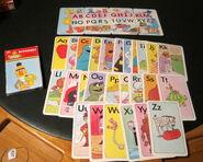 Golden 1986 get ready alphabet flash cards 1
