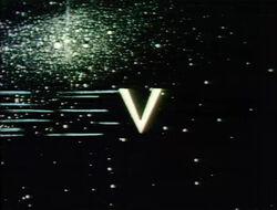 V in space