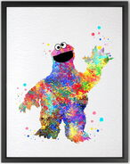 Dignovel studios 2016 cookie monster