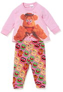 Peter alexander baby girls fozzie bear pj set