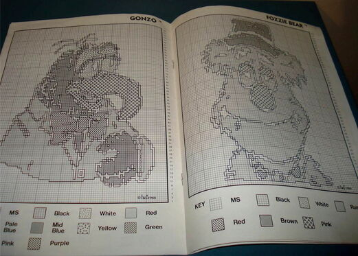 Knitting patterns 1988 itarsia 5