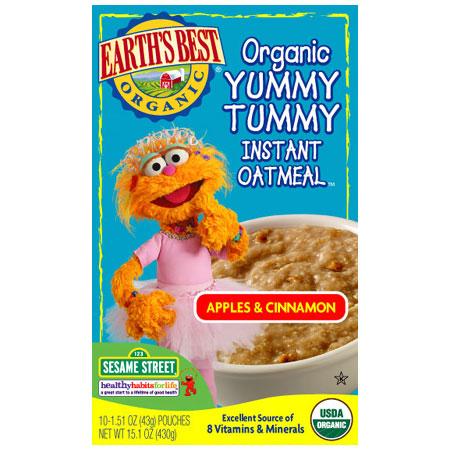 File:Apples & Cinnamon Organic Yummy Tummy Instant Oatmeal.jpg