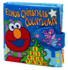 Elmos christmas countdown soft book