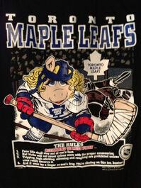 NHL Miss Piggy Toronto Maple Leafs shirt-1994