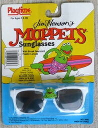 Playtime 1991 sunglasses kermit