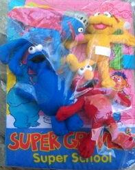 Super grovers super school set