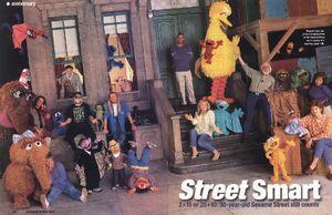 Kermit The Frog On Sesame Street Muppet Wiki Fandom