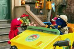 Elmo grover safari