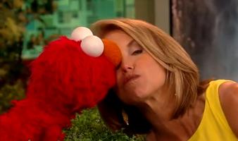 Kiss--Elmo&Katie