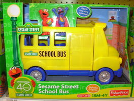 Sesame Street School Bus