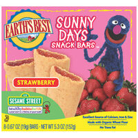 Strawberry Sunny Days Snack Bars