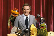 Andy Williams Muppet Show cast curtain