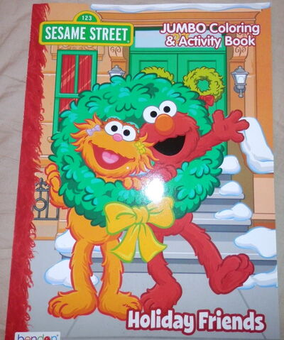 File:Bendon 2016 coloring books holiday friends.jpg