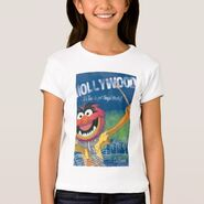 Zazzle animal hollywood shirt