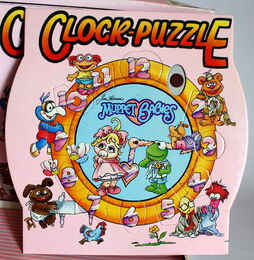 Imago 1985 greece muppet babies clock puzzle 4