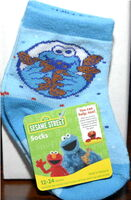 Socks cookie monster high point