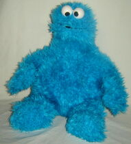 2007 sesame place cookie plush