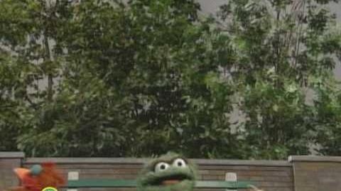 Sesame Street Oscar Sings I'm Sad Because I'm Happy
