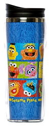 Sesame place travel mug