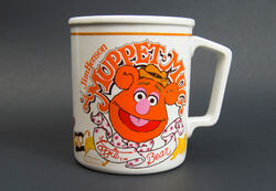 Fozzie mug with Groucho glasses